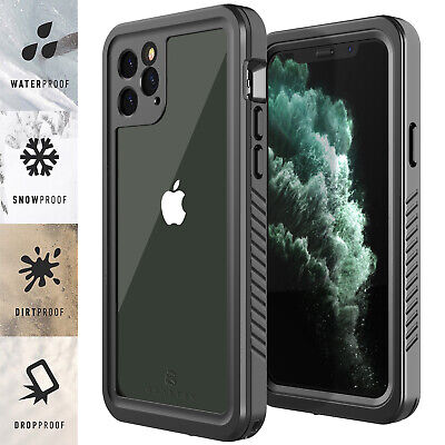 For Apple iPhone 11  11 Pro Max Life Waterproof Case Cover w Screen Protector