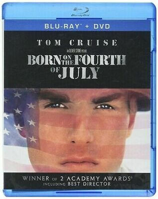 Born on the Fourth of July Blu-rayDVD 2012 2-Disc Set NEW