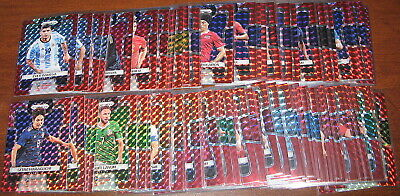 2018 Prizm World Cup Red Mosaic PICK AND CHOOSE LIST MULTI 1-300 Parallel
