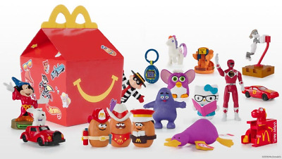 2019 McDONALDS 40th ANNIVERSARY RETRO HAPPY MEAL TOYS SAME DAY SHIPPING