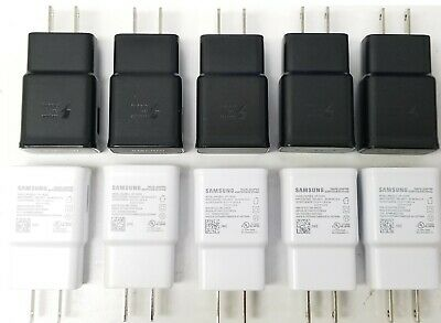 Samsung Galaxy S10 Charger Block OEM Fast Travel Adapter EP-TA200 LOT S10e Plus