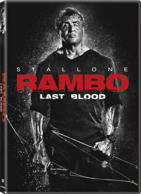 Rambo Last Blood - DVD - Sylvester Stallone  BRAND NEW -  FREE SHIPPING