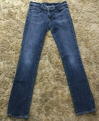CITIZENS OF HUMANITY WIMBLEDON AVA STRAIGHT JEANS SZ 29 ACTUAL W 29 X  L 33