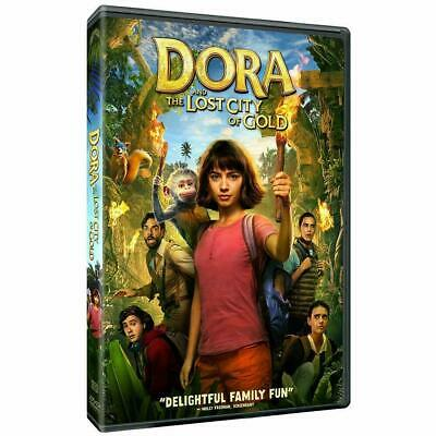 DORA AND THE LOST CITY OF GOLD NEW DVD PRE-ORDER SHIPS 11-19-19