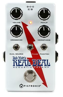 Pigtronix Bob Weirs Real Deal Acoustic Guitar Preamp Pedal