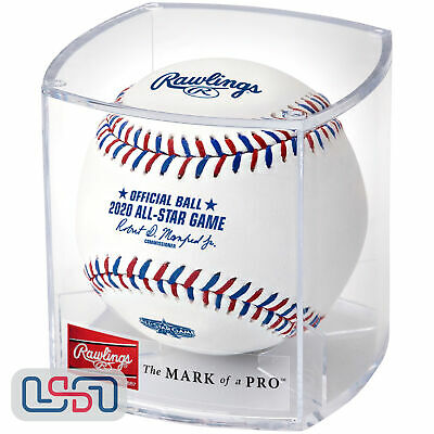 2020 All Star Game Official MLB Rawlings Baseball Los Angeles Dodgers Cubed