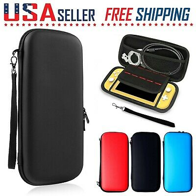 For Nintendo Switch LITE Carrying Case Hard Portable Pouch Screen Protector