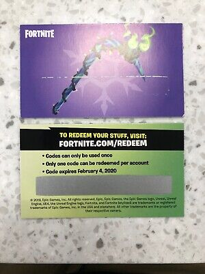 Fortnite Merry Mint Axe Minty Pickaxe Code Exclusive eBay Message Delivery-
