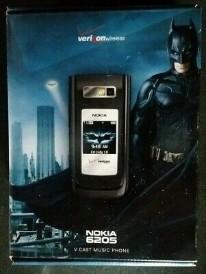 BOX - Promo items ONLY - NOKIA 6205 The Dark Knight Edition - Phone NOT included