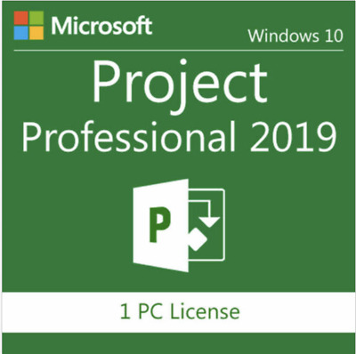 Microsoft Project Professional 2019 License Key 1 PC Download Link instantly