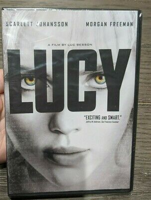 Lucy On DVD With Scarlett Johansson New Sealed