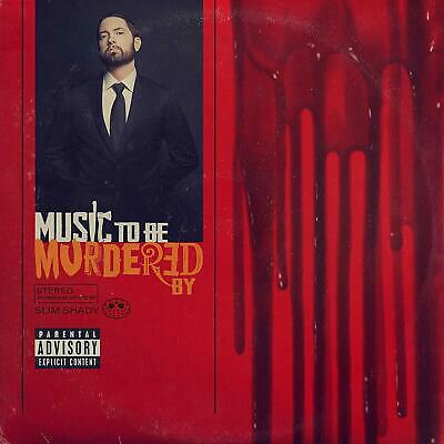 Eminem Music To Be Murdered By CD Explicit Lyrics 2020 NEW FREE SHIPPING preorde