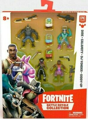 Fortnite Battle Royale Collection - Dire - Calamity - DJ Yonder - Giddy-up NEW