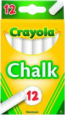 Traditional White Color Chalk 12 Each Perfect for Teaching