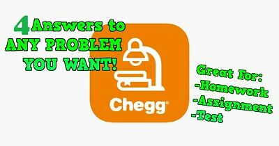 Chegg Answers - Get 4 Answers for AssignmentsHomeworkTest
