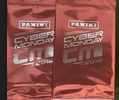 2 PACK LOT-2018 PANINI CYBER MONDAY PROMO PACK HOT ITEM ED AUTOGRAPH