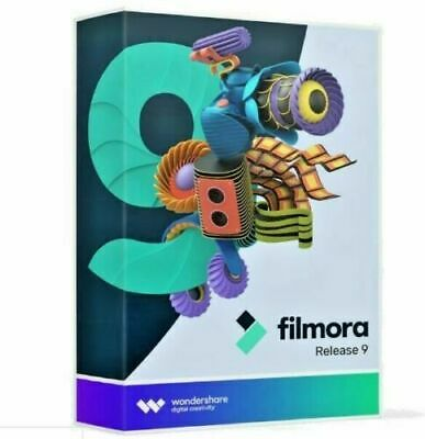 Wondershare Filmora 9  4K Video Editor  Lifetime License  For Windows