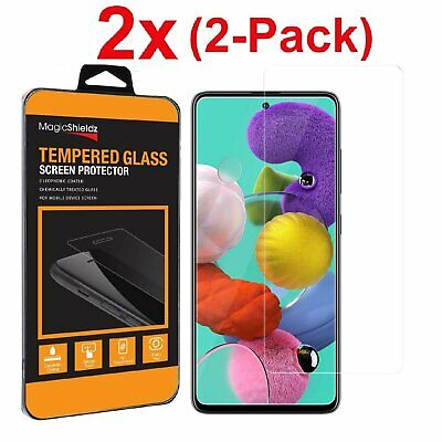 2-Pack Tempered Glass Film Screen Protector for Samsung Galaxy A51 A71 5g