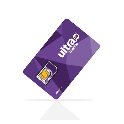Ultra Mobile Sim card for All iPhones - FREE SHIPPING
