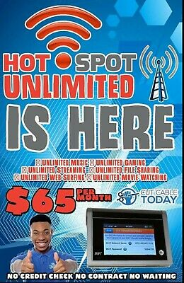 Att Truly Unlimited 4G LTE Data Hotspot Plan 65 a Month  No Credit Checks