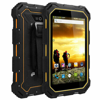 7 inch Unlocked Android 4G LTE Rugged Smartphone Cell Phone Tablet Mobile NFC