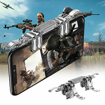 Mobile Game Controller 6 Finger Fire Button For IOS Android For Fortnite PUBG
