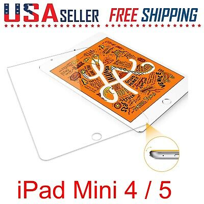 2 Pack For Apple iPad Mini 4  5 Tempered Glass Screen 7-9 Protector Pencil