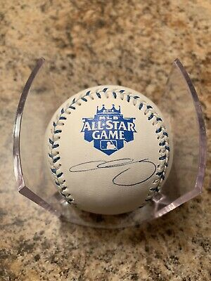 Chris Sale Signed 2012 All Star Game Baseball W MLB Authentication