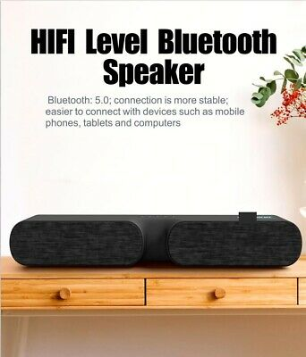 LED Wireless 5-0 Bluetooth Speaker For TV Home Sound Bar Movie Stereo Cell Phone