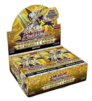 Yu-Gi-Oh - Eternity Code - Booster Box 1st Edition LIVE AND READY TO SHIP