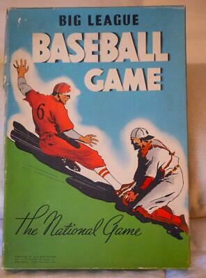 All Star Classic and COMPLETE 1937 BIG LEAGUE BASEBALL BOARD GAME Whitman 3502