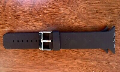 Apple Watchband  Fits 42mm - 44m Watches In Black