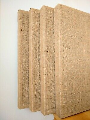 4 Acoustic Panels - 24x24x2 Quality Acoustic Wall Panels Sound Absorbers