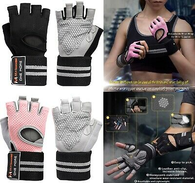 Gym Workout Glove For WeightLifting Gym  Workout  Training Wrist Wrap Strap