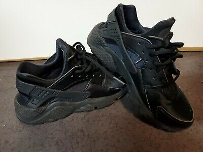 Nike Air Huarache All Black Size 6 Athletic Shoes