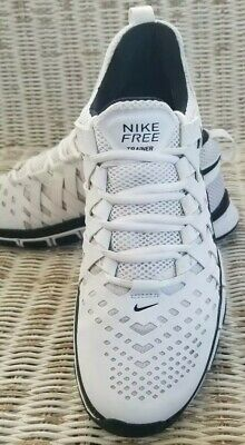 NIKE FREE TRAINER 5-0 TB ATHLETIC SHOE MENS Size 9 WhiteBlack 579811-100