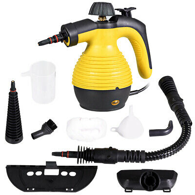 Multifunction Portable Steamer Household Steam Cleaner 1050W WAttachments New