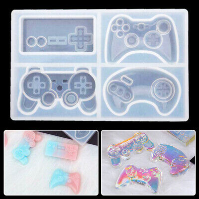 Game Consoles Handle Pendant Silicone Resin Mold Jewelrys Making Tools Craft