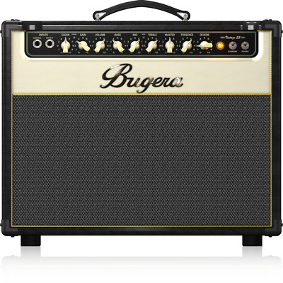 Bugera V22 22-Watt Vintage 2-Channel Tube Combo with Reverb - Warranty