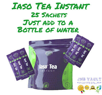 💥💥💥SALE🔥🔥🔥 TLC Iaso Tea INSTANT 25 SACHETS Natural Cleanse Weight Loss