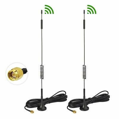 2x 4G SMA Magnetic Antenna For AT-T ZTE MOFI UNLIMITED DATA LTE HotSpot Router