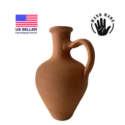 Earthenware Clay Pitcher Mud Pot for Drinking Water Jug Terracotta Pitcher 10
