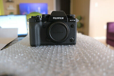 Fujifilm X-T3 26-1MP Digital Camera - Black Body Only