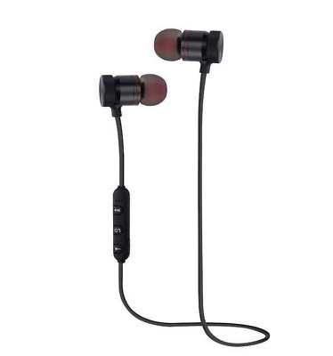 WIRELESS BLUETOOTH SPORTS HEADPHONES EARPHONE EARBUDS HEADSET MIC ANDROID IPHONE