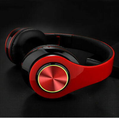 LED Wireless 3-5mm Gaming Headset Headphones Stereo With Mic For PC PS4 Xbox ONE