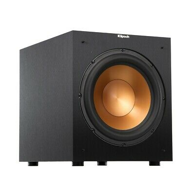 Klipsch R-12SW Subwoofer 400W Powered Home Theater Subwoofer