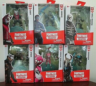Fortnite Battle Royale Collection Wave 1 Full Set of 6 Solo Pack Mini Figures