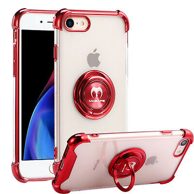 For iPhone X XR XS 7 8 Plus 11 Pro MAX Mosafe® Shockproof Ring Holder Case Cover