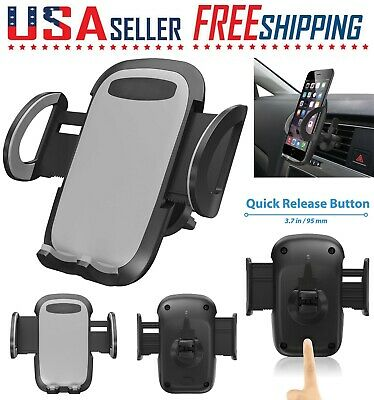 Cell Phone Car Air Vent Mount Cradle Holder Stand 360 Rotation Universa GPS🔴🔴
