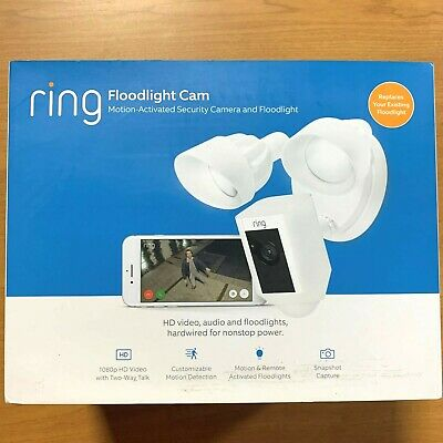 Ring Spotlight Cam Battery HD Security Camera Two-Way Talk with Siren Alarm